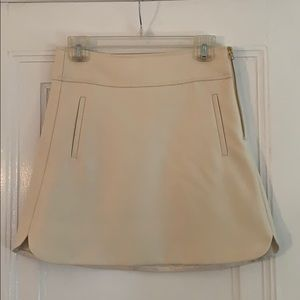 J Crew off white wool tulip skirt 2